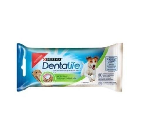 PURINA PRO PLAN Single Лакомство для собак мелких пород для чистки зубов Dentalife Small