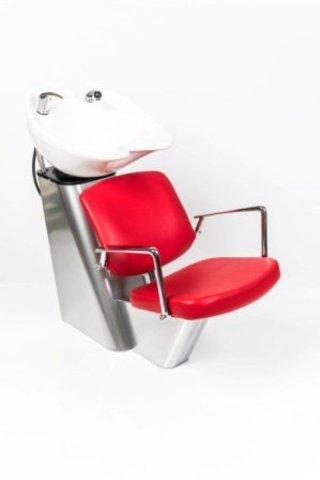 Парикмахерская мойка Байкал с креслом Конфи