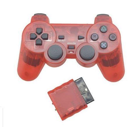 Беспроводной контроллер DualShock 2 (красный, копия)