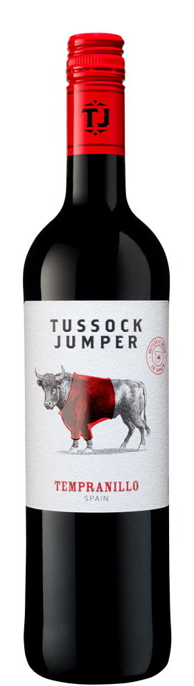 Вино Тассок Джампер Темпранильо красное сухое защищ.геогр.указ.0,75л.