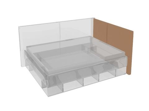 Бортик к кровати-тахте Lancaster 1 с основанием (правый)