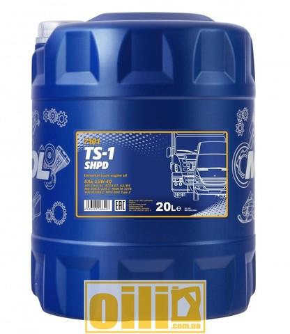 Mannol 7101 TS-1 SHPD 15W-40 20л