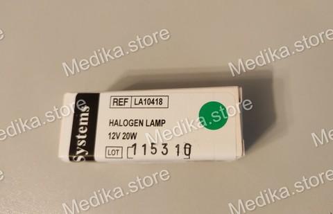 Лампа галогеновая к А-25(комплектующие, запасные части) к анализатору LA10418 Лампа галогеновая Товарный знак: BioSystems REAGENTS & INSTRUMENTS