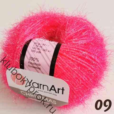 YARNART CHRISTMAS 09, Неоновый розовый