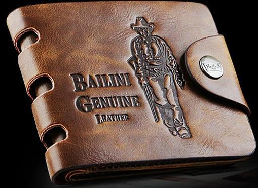 Качественное кожаное портмоне Bailini Style