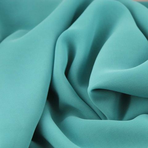 Портьерная ткань блэкаут бирюзовая. Арт. Т-17-19