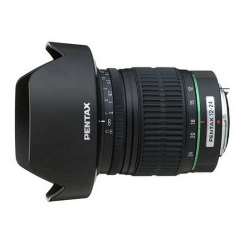 Объектив Pentax DA 12-24mm f/4 ED AL IF Black для Pentax