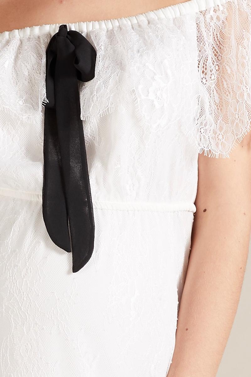 Фото платье для беременных GEBE от магазина СкороМама, белый, размеры.