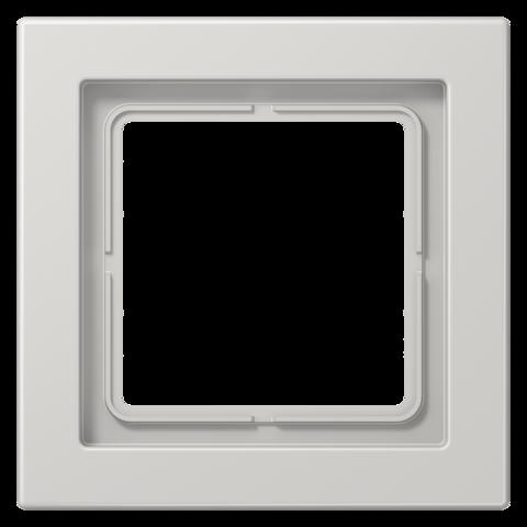 Рамка на 1 пост. Цвет Светло серый. JUNG LS - ДИЗАЙН. LSD981LG