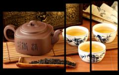 """Модульная картина """"Китайский чай"""""""