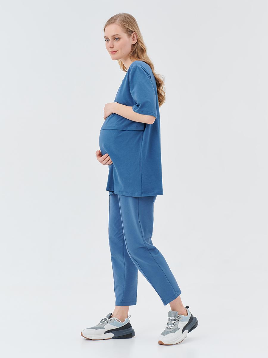 Брюки трикотажные для беременных - Фото 6