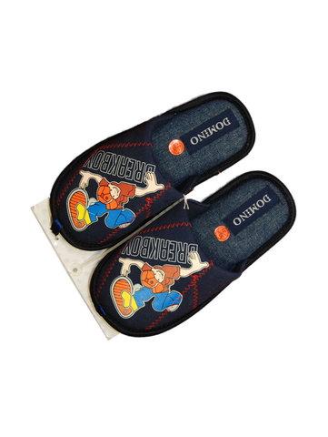 Тапочки Домино синие