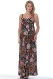 Платье для беременных 05555 разноцветный