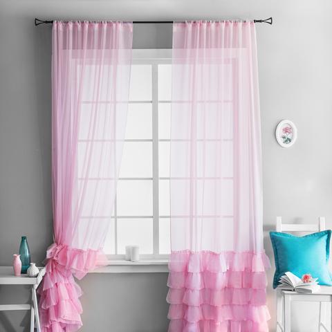 Комплект штор Фрезия светло-розовый