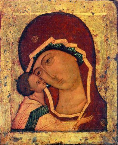 Икона Божией Матери Игоревская на дереве на левкасе мастерская Иконный Дом