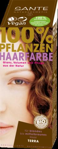 SANTE Растительная краска для волос Терра (Темно-русый), 100 гр