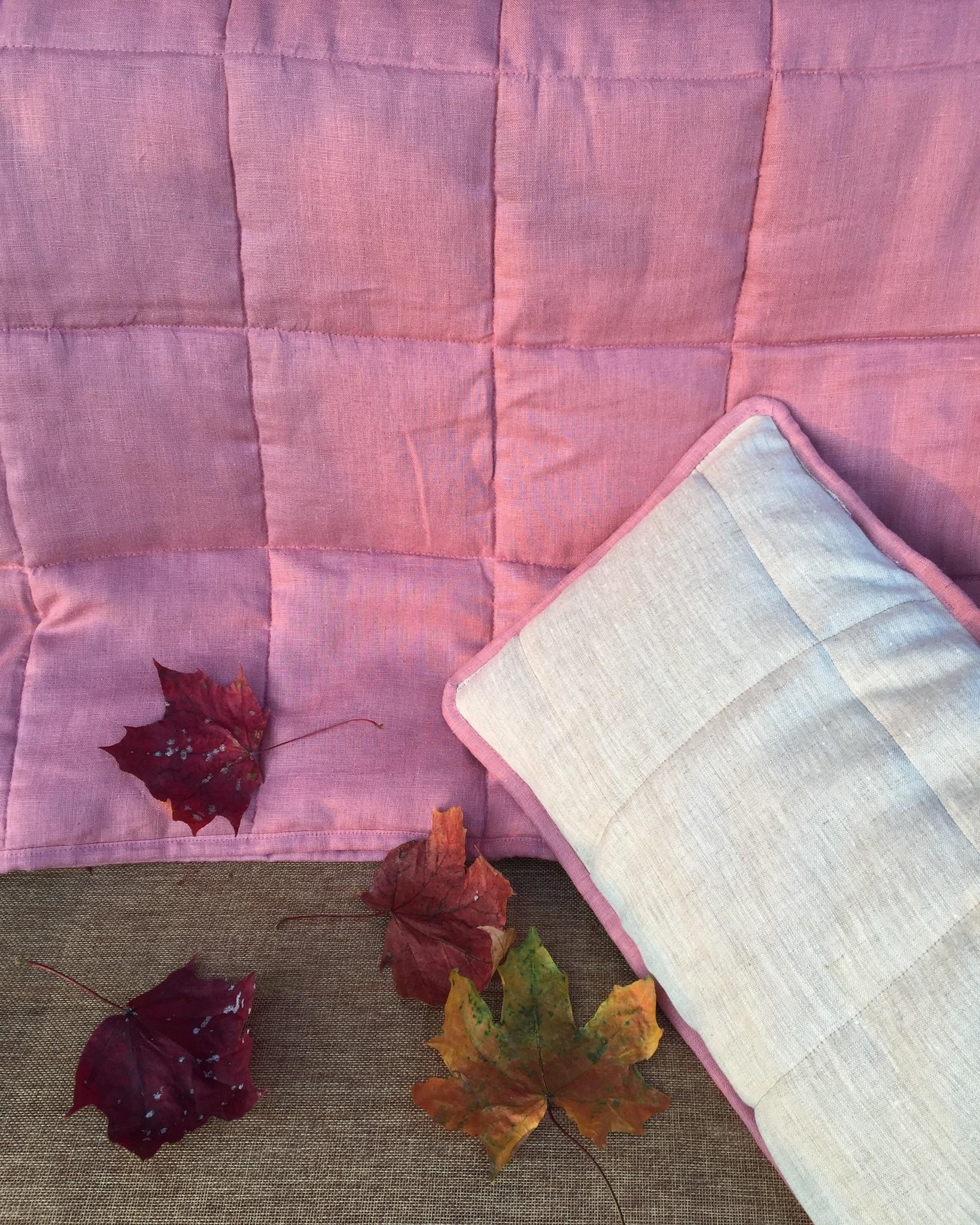 Подушка льняная детская