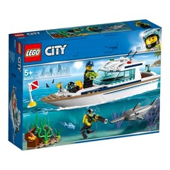 Lego konstruktor  City DIVING YACHT