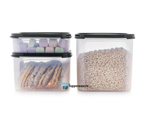 Набор контейнеров Компакт 1,1 л, 2,6 л и 4 л.
