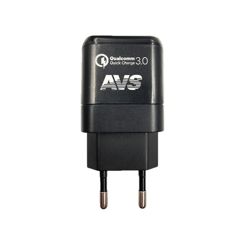 Сетевое зарядное устройство USB AVS 1 порт UT-713 Quick Charge (1,5-3A)