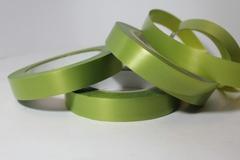 Лента простая гладкая без тиснения (2см*50м) Оливковый