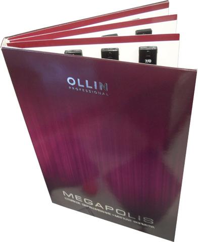 Палитра для красителя Ollin Megapolis