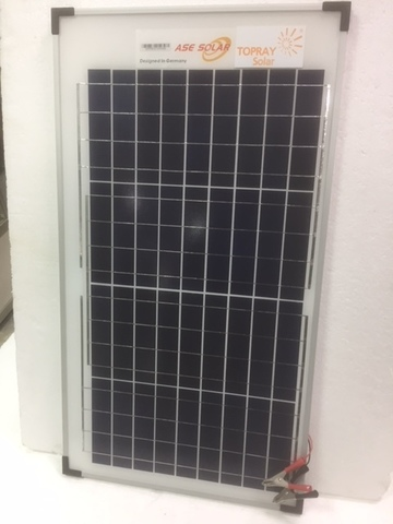 Солнечная батарея TopRay Solar поликристаллическая  65 Вт