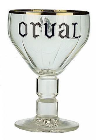 Набор из 6 пивных бокалов «Orval» 330мл