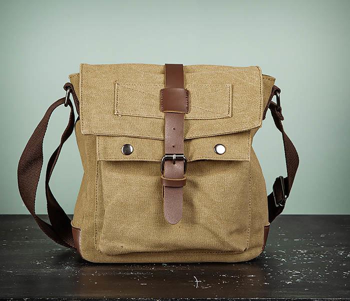 BAG503-2 Мужская сумка планшет из плотной ткани