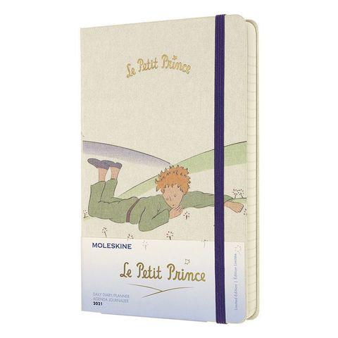 Ежедневник Moleskine LE L'Petit Prince Large 130х210мм 400стр. белый