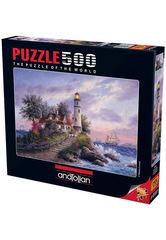 Puzzle Kaptanın Koyu. Captain's Cove 500 pcs
