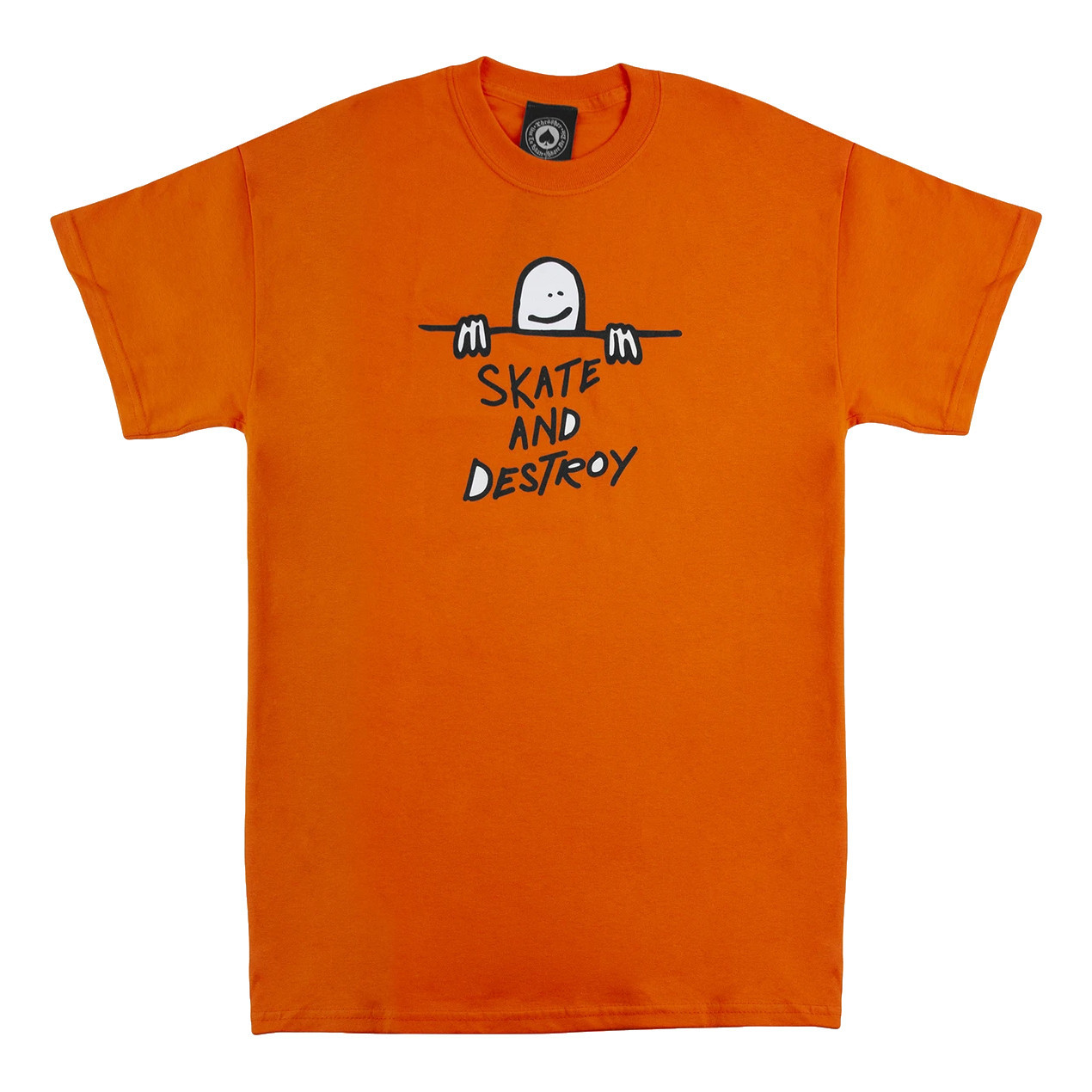 Футболка THRASHER Gonz Sad Logo (Orange)