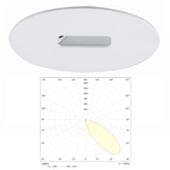 Светильник аварийной подсветки с асимметричным светораспределением SLIMSPOT II ANGLE Teknoware