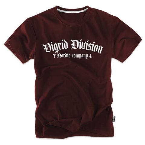 Футболка VIGRID DIVISION бордо