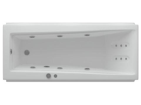 Ванна акриловая Aquatek  Либра 170х70см. на каркасе и сливом-переливом.