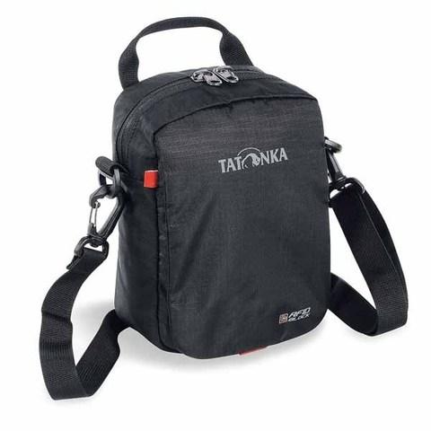 Картинка сумка для документов Tatonka CHECK IN RFID B black  - 1