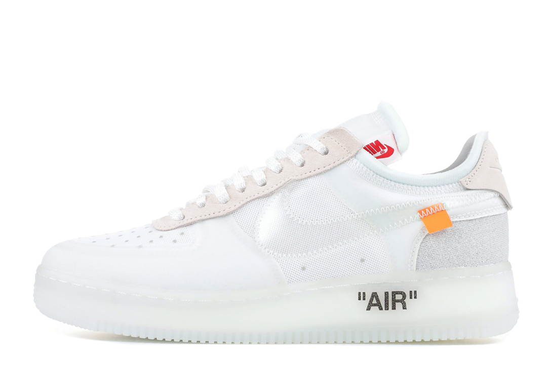 Off-White x Nike Air Force 1 кроссовки