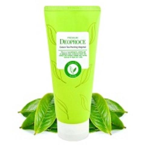 Deoproce Green Tea Peeling Vegetal пилинг-скатка на основе зеленого чая