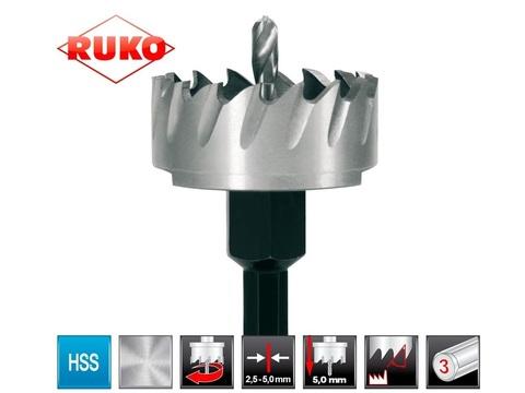 Коронка по металлу 50х10мм HSS-G S=10мм Ruko 128050 (В)