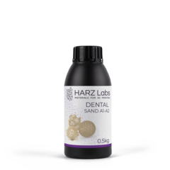 Фотография — Фотополимер HARZ Labs Dental Sand (A1-A2), бежевый (1000 гр)