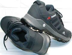 Модные кожаные кроссовки для повседневной носки Adidas Terrex A968-FT R.