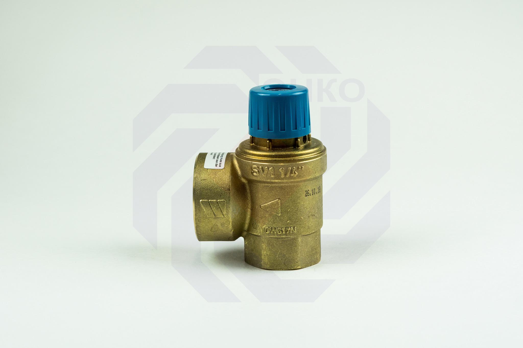 Клапан предохранительный WATTS SVW 8 бар 1¼