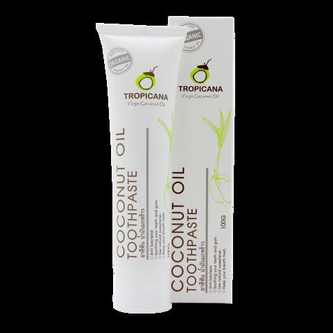 Зубная паста КОКОС TROPICANA Coconut Toothpaste, 20 гр