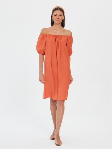 BM Платье на резинке Терракот
