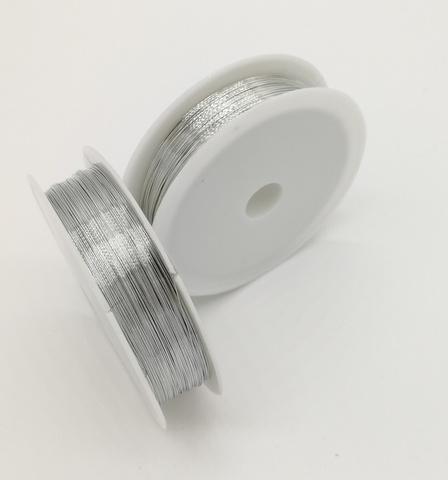 Проволока 0,3 мм, 50 м, цвет серебро