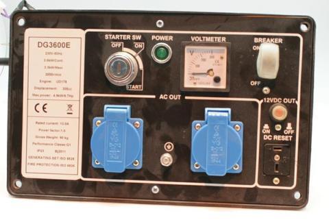 Панель контрольная DDE DG3600 -->YDA (YDA-DG3600)