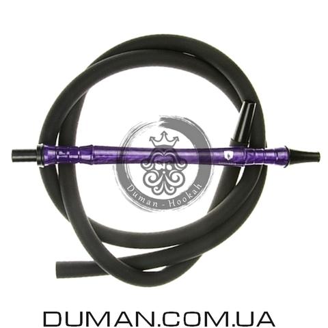 Комплект силиконовый шланг Soft-Touch и мундштук Yahya Smoth Set для кальяна |Purple