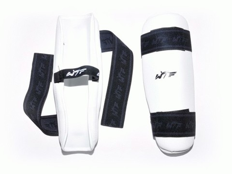 Щитки для ног для тхеквондистов. Размер М. ZTT-019-T