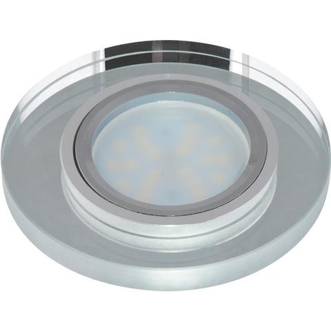 DLS-P106 GU5.3 CHROME/SILVER Светильник декоративный встраиваемый ТМ
