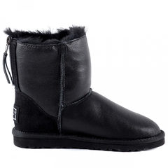 UGG Zip Mini Metallic Black